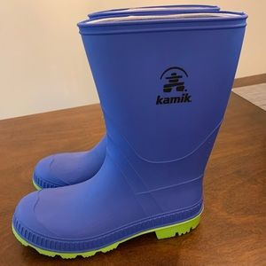 Kamik rain boot EUC. Barely worn.